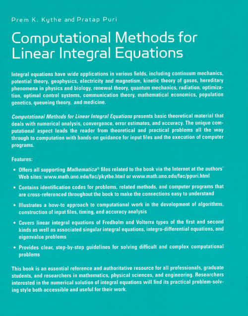 Lotuswebtec com - Computational Methods for Linear Integral Equation